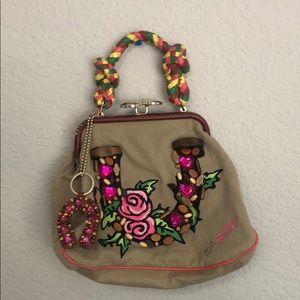 Betsey Johnson Flower Handled Handbag